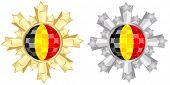 belgian flag banner
