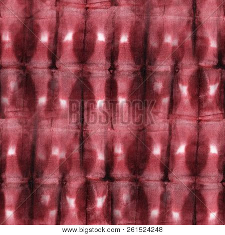 0c8c385ca34d Poster of Seamless Tie-dye Pattern Of Brown Color On White Silk. Hand  Painting Fabrics - Nodular Batik. Shibo