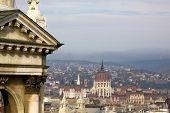 Hungarian Parliament Building, Budapest, Hungary.