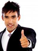 Homem de negócios - Thumbs Up