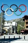 Olympic Village at Squaw Valley Ski Resort, Lake Tahoe, California