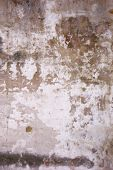Old wall damaged paint in Antigua Guatemala