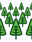 green modern forest