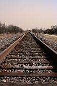 endlose Train track