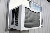 image of air conditioning  - Exterior air conditioning unit - JPG
