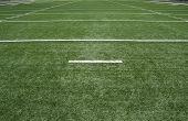 image of football field  - American football field - JPG