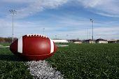 Futebol colegial no campo
