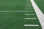 Yard Lines of a Football Field
