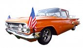 1960 Chevrolet El Camino isolated with clipping path