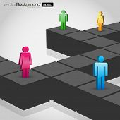 Network Concept - Vector Illustration