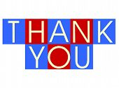picture of thank you  - concepthelpers are for use to illustrate a point on a slide or other medium - JPG