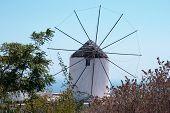 Vothonas mill, Santorini.