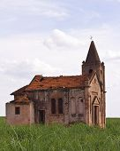 Ruins Of An Abandoned Church