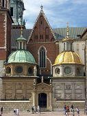Two Royal Chapels at the Wawel castle in Krakow
