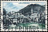 Stamp Lourdes