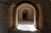 Arc In The Inner Yard Of Fortress