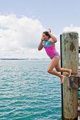 Leap Off Wharf