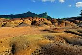 foto of chamarel  - Main sight of Mauritius island - JPG