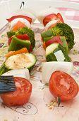 Skewer Of Vegetables