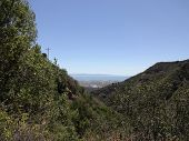 Santa Barbara Landscape From The Mountains