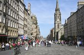 Royal Mile casco antiguo de Edimburgo