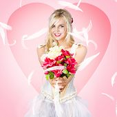Beloved Flower Girl. Be My Valentine