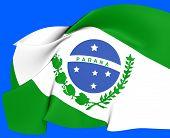 Flag Of Parana, Brazil.