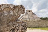 Chichen Itza pyramid, El Castillo, Mexico