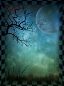 stock photo of fairy-tale  - A magical and mysterious background for fairytale - JPG