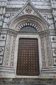Door Of Siena Cathedral