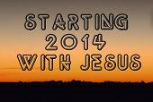 2014 with Jesus