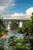 Iguazu Waterfalls In Argentina