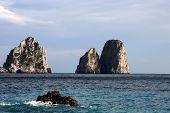 The Faraglioni Rocks, Capri Island