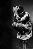 Desire, Slave concept, man bound, chains, prison