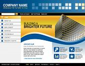 Business Technology Website Template