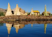 Titicaca Lake, Peru, Floating Islands Uros