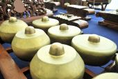 Gamelan Music Instrument Bonang