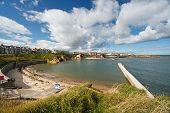 Cullercoats Bay North East England