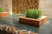Modern Interior Design Indoors Waterfall