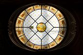 Berlin, Germany - July 22: Roof Window  Of Berliner Dom, Biggest Historic Neo Baroque Church Of Berl