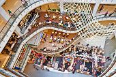 People Relax And Enjoy The Shopping Complex Central World