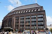 Helsinki, Finland - August 14:  The flagship Stockmann store in the centre of Helsinki. It is the la
