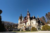 Visitors at Peles Castle