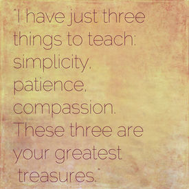 picture of taoism  - Inspirational quote by Lao Tzu  - JPG