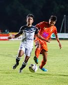 Sisaket Thailand-may 28: Nurul Sriyankem Of Chonburi Fc. In Action During Thai Premier League Betwee