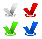 checkbox icon set