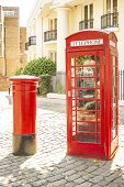 London Phone And Post Box