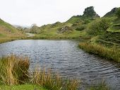 Fairy Glen On The Isle Of Skye