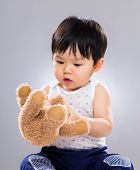 Baby boy play doll toy