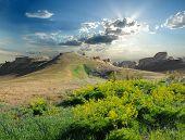 Hill On The Plateau. Ustyurt